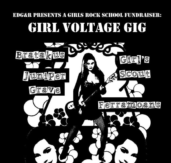 Under our Radar: Girl Voltage Gig by EDG&R