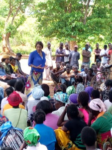 Community dialogue with women